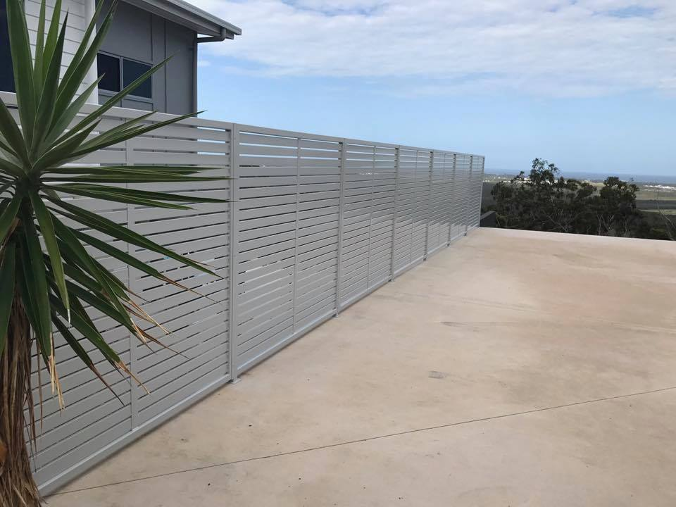 Aluminium screens and louvers